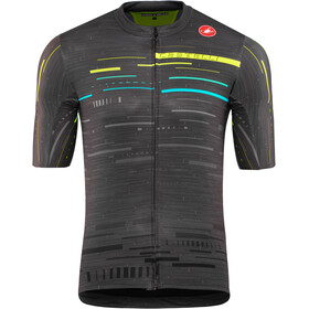 Castelli Tabularasa Maillot FZ Hombre, multicolor/dark gray/yellow